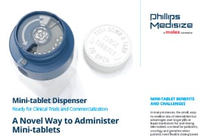 Mini-tablet dispenser sell sheet